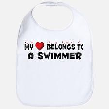 Belongs To A Swimmer Bib