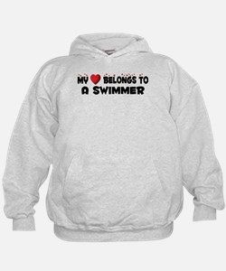Belongs To A Swimmer Hoodie