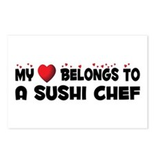 Belongs To A Sushi Chef Postcards (Package of 8)