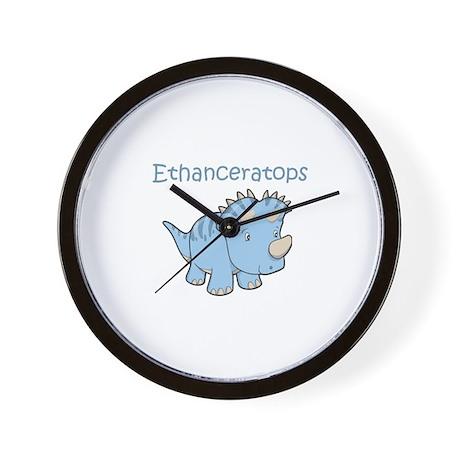 Ethanceratops Wall Clock