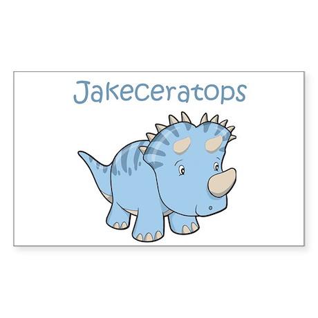 Jakeceratops Rectangle Sticker
