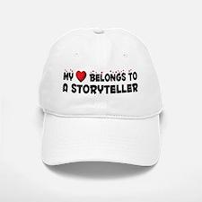 Belongs To A Storyteller Baseball Baseball Cap