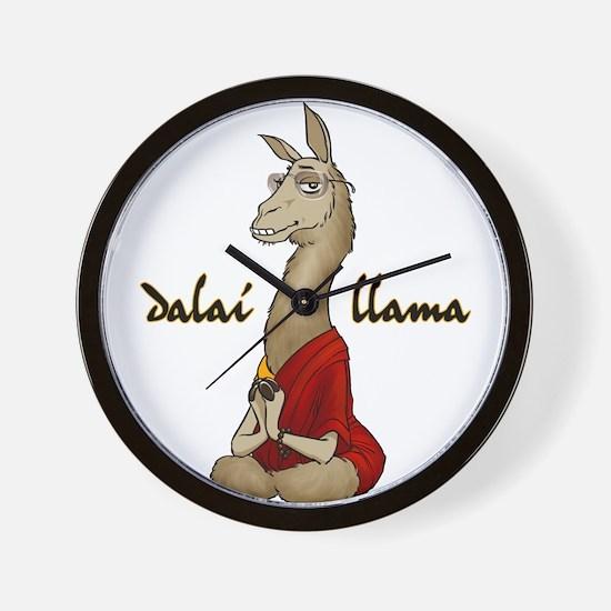 Dalai Llama Wall Clock