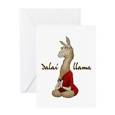 Dalai Llama Greeting Card