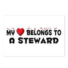 Belongs To A Steward Postcards (Package of 8)