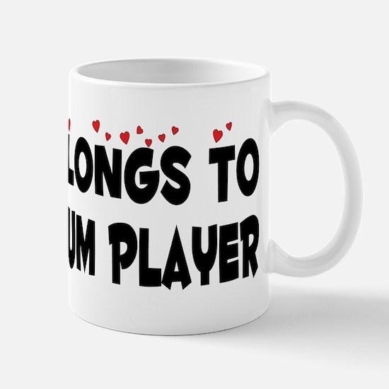 Belongs To A Steel Drum Player Mug