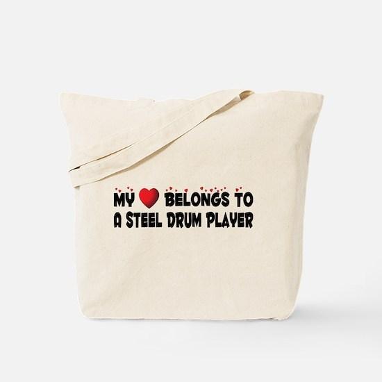 Belongs To A Steel Drum Player Tote Bag