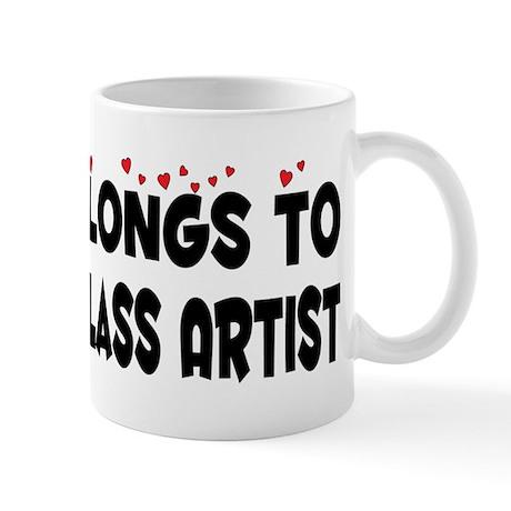 Belongs To A Stained Glass Artist Mug