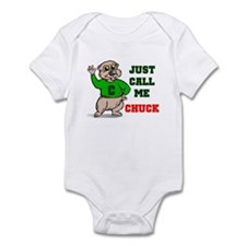 CALL ME CHUCK Infant Bodysuit