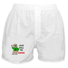 CALL ME CHUCK Boxer Shorts