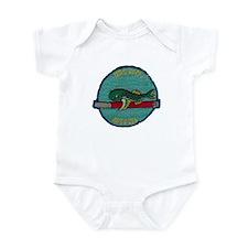 USS ROCK Infant Bodysuit