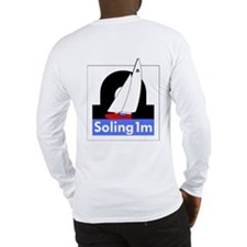 Soling 1M Big Logo T-Shirt (White Long Sleeve)