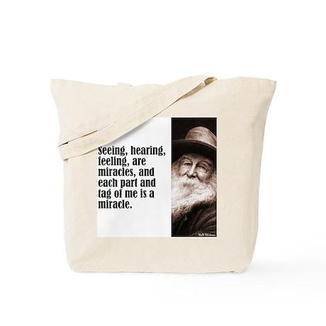 """Whitman """"Seeing"""" Tote Bag"""