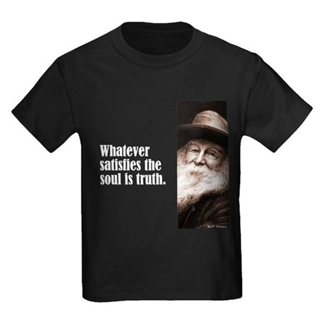 "Whitman ""Truth"" Kids Dark T-Shirt"