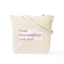 Ekaterinburg Tote Bag