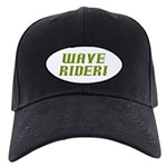 Wave Rider Black Cap