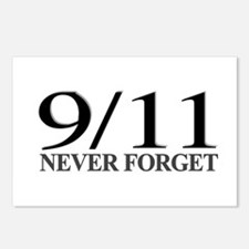 9/11 Never Forget Postcards (Package of 8)
