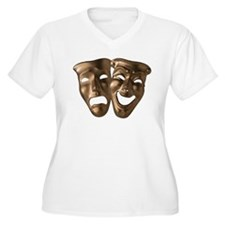 Comedy/Tragedy Masks T-Shirt
