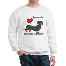 Dachshunds Leave Paw Prints Sweatshirt