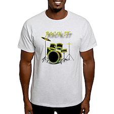 glowing drum-ROCK IT T-Shirt
