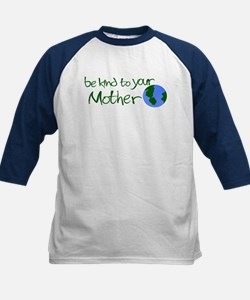 Be Kind to Your Mother Kids Baseball Jersey
