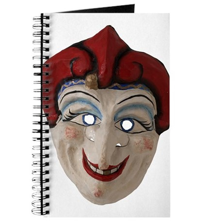 Red Hat Clown Mask Journal