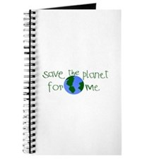 Save the Planet for me Journal