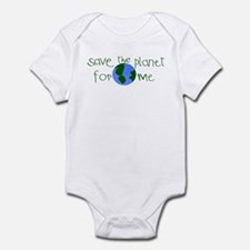 Save the Planet for me Infant Bodysuit