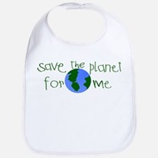 Save the Planet for me Bib