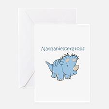 Nathanielceratops Greeting Card