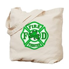Irish Fire Fighter Tote Bag