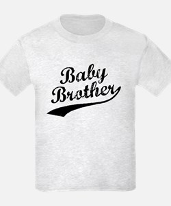 Baby Brother (Black Text) T-Shirt
