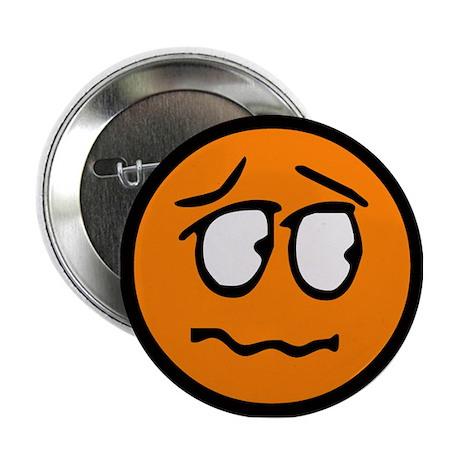 """Unsure Smilie 2.25"""" Button"""