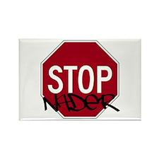 Stop Nader! Rectangle Magnet
