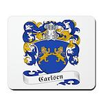 Carlsen Family Crest Mousepad