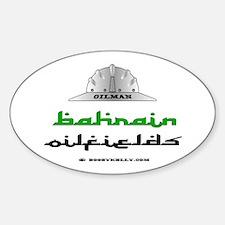 Bahrain Oilfields Oval Decal