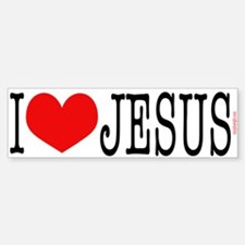 I Love Jesus Bumpersticker