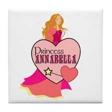 Princess Annabella Tile Coaster