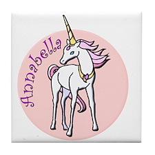 Annabella Unicorn Tile Coaster