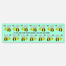 Bumble Bees Bumper Bumper Bumper Sticker