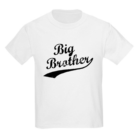 Big Brother (Black Text) Kids Light T-Shirt