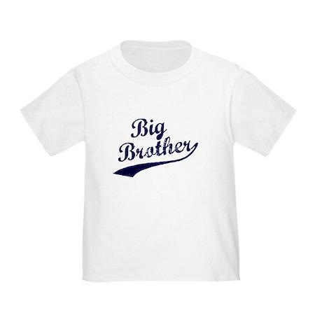 Big Brother (Blue Text) Toddler T-Shirt