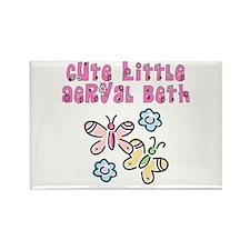 Cute Little Aeryal Beth Rectangle Magnet