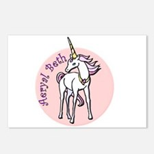 Aeryal Beth Unicorn Postcards (Package of 8)