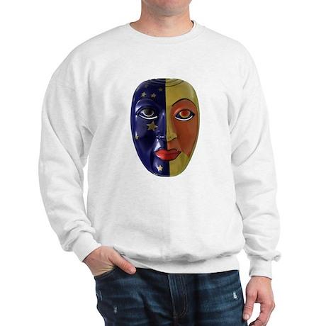 Sun & Moon Mask Sweatshirt