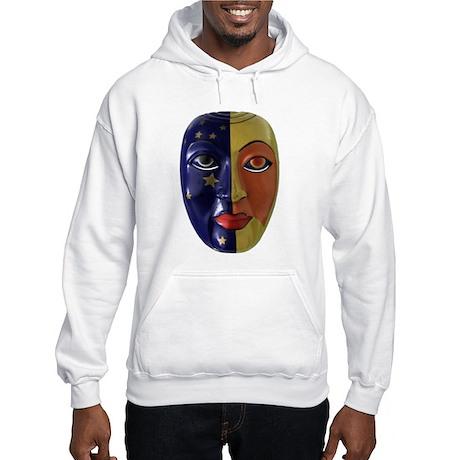 Sun & Moon Mask Hooded Sweatshirt