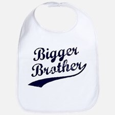 Bigger Brother (Blue Text) Bib