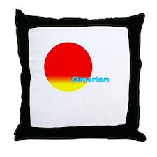 Omarion Throw Pillow