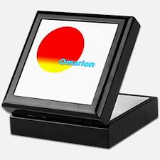 Omarion Keepsake Box
