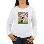 Spring / Collie Women's Long Sleeve T-Shirt